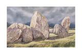 Stones of Castlerigg, Cumbria, 1984 Giclee Print by Evangeline Dickson