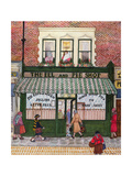 The Eel and Pie Shop Giclee Print by Gillian Lawson