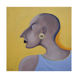Women in Profile Series, No.7, 1998 Lámina giclée por John Wright