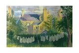 Washing at No. 25, Kingston Giclee Print by Osmund Caine
