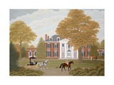 Bougemont, West Virginia Giclee Print by Vincent Haddelsey