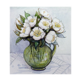 Christmas Roses, 1984 Giclee Print by Gillian Lawson