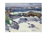 A Rocky Shore, Iona Giclee Print by Samuel John Peploe