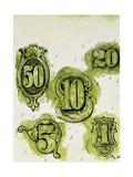Dollars Giclee Print by George Adamson