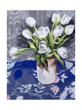 White Tulips, 1994 Giclee Print by Cristiana Angelini