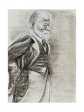 Sigmund Freud (1856-1939) 1998 Giclee Print by Stevie Taylor