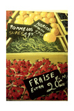 Fraise Giclee Print by Dory Coffee