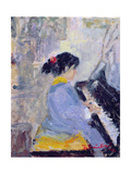 At the Piano, 1994 Giclee Print by Patricia Espir