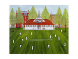 The Cricket Match Giclee Print by Mark Baring