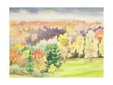 No.64 Autumn, Beaufays, Liege, Belgium Giclee Print by Izabella Godlewska de Aranda