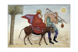 Flight into Egypt III Giclee Print by Gillian Lawson