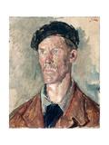 Portrait of Edwin John, C.1940 Giclee Print by Augustus Edwin John