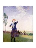 The Kite Flyer, 1916 Giclee Print by Harold Harvey
