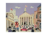 The City Giclee Print by William Cooper