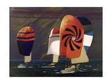 Spinnakers Giclee Print by Robert Tyndall