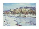 Chatsworth - Midwinter, 1996 Giclee Print by Martin Decent