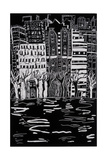 Thames in Winter, 1999 Giclee Print by Hilary Rosen