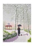 Solitary Stroll Giclee Print by Peter Szumowski