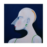 Women in Profile Series, No. 6, 1998 Giclee Print by John Wright