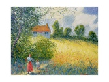 The Meadow Path Giclee Print by Richard Kretchmer