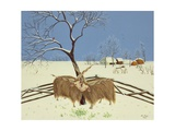 Spring in Winter, 1987 Giclee Print by Magdolna Ban