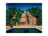 Animal Garden, 1980 Giclee Print by Anthony Southcombe