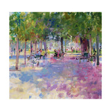 Tuileries, Paris Stampa giclée di Peter Graham
