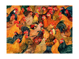 Fine Fowl Giclee Print by  Ditz