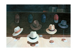 Hat Shop, 1990 Giclee Print by Lincoln Seligman