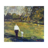 Grandfather and Grandson, 1997 Giclee Print by Patricia Espir
