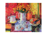 Table Reflections Giclee Print by Peter Graham