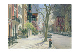East 70th Street, New York, 1996 Giclee Print by Julian Barrow