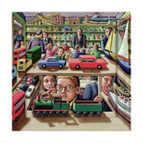 The Toyshop, 2000 Giclee Print by P.J. Crook