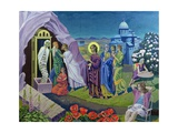 The Raising of Lazarus, 1987 Giclee Print by Osmund Caine