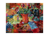Sienna Bouquet Giclee Print by Peter Graham