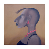 Women in Profile Series, No. 8, 1998 Giclee Print by John Wright