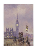 Late Afternoon, Westminster Bridge Giclee Print by John Sutton