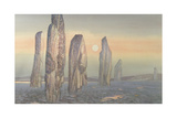 Spirits of Callanish, Isle of Lewis, 1987 Giclee Print by Evangeline Dickson
