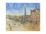 The Piazza in Siena, 1995 Giclee Print by Patricia Espir