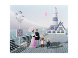 The Lighthouse, 1996 Giclee Print by Peter Szumowski