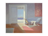Beach House, 1995 Giclee Print by Lincoln Seligman