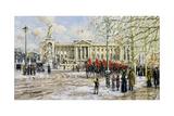 Buckingham Palace Giclee Print by John Sutton