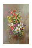 A Yuletide Posy Giclee Print by Albert Williams