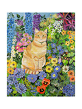 Gordon's Cat, 1996 Giclee Print by Hilary Jones