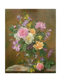 Vase of Flowers Giclee Print by Albert Williams
