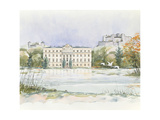 Salzburg Sound of Music Giclee Print by Clive Metcalfe