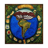 Parana, Brazil I, 1995 Giclee Print by Deirdre Kelly