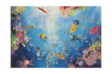 Underwater World II, 1998 Giclee Print by Odile Kidd