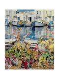 Paros, 1985 Giclée-tryk af Jeremy Annett