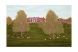 Quendon Park, Essex Giclee Print by Vincent Haddelsey